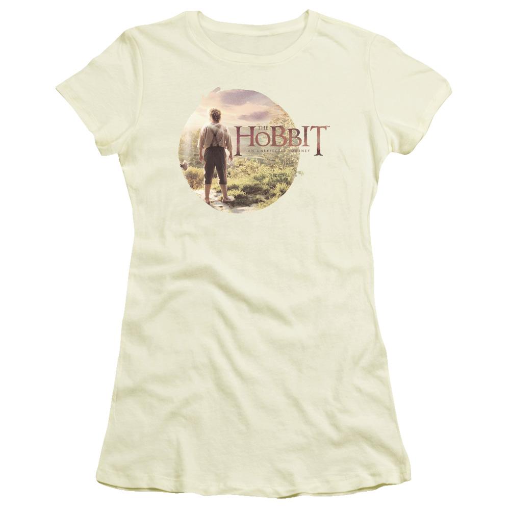 The Hobbit In Circle The Hobbit Junior Fit T Shirt