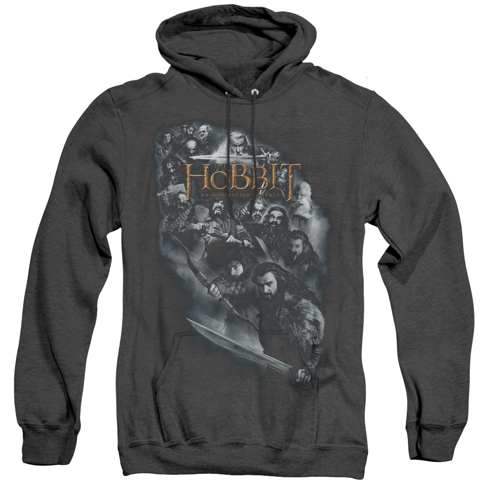 Cast Of Characters The Hobbit Adult Heather Hoodie