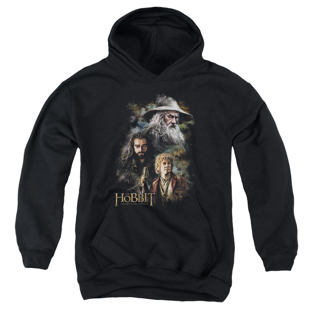 Painting The Hobbit Kids Hoodie
