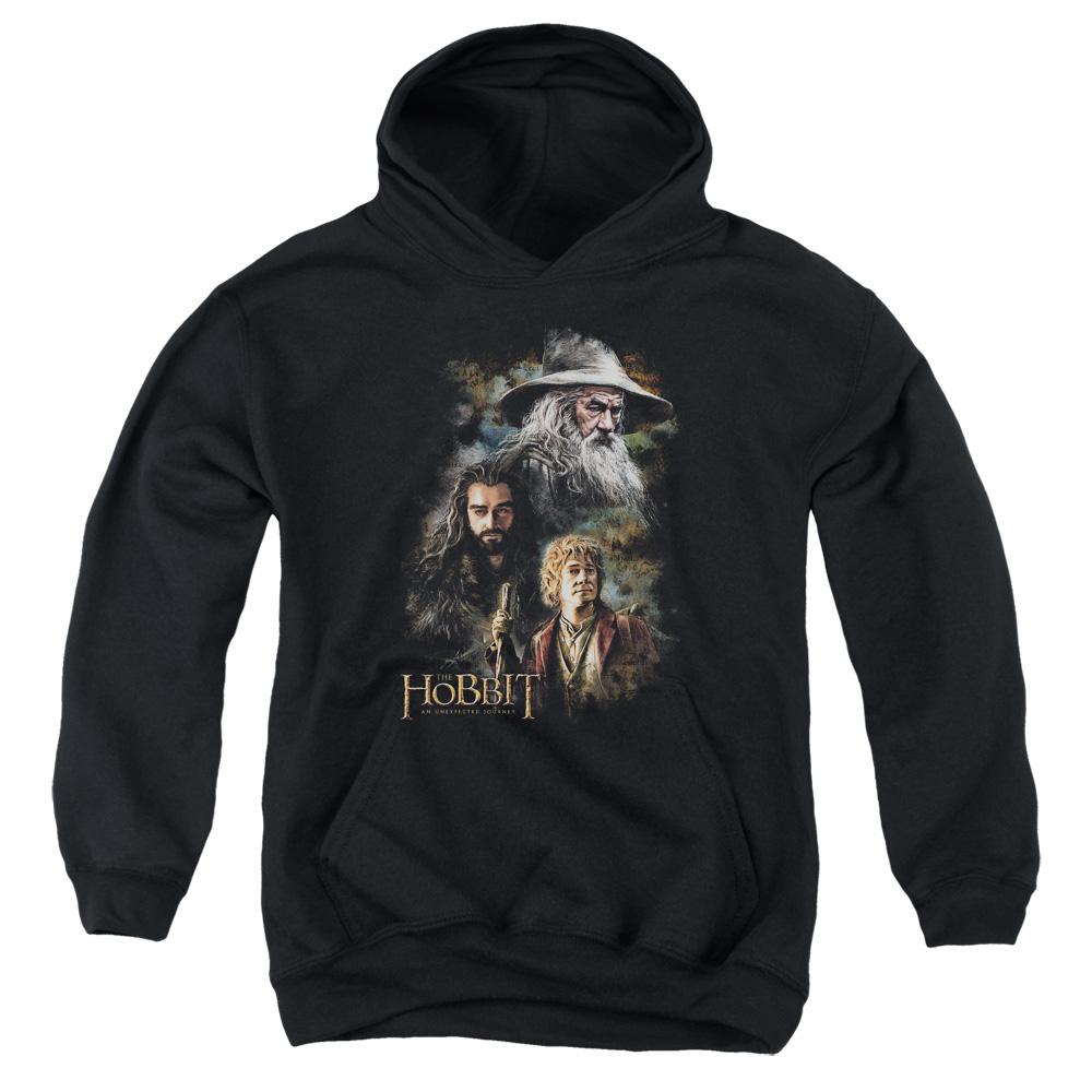 Painting The Hobbit Kids Hoodie
