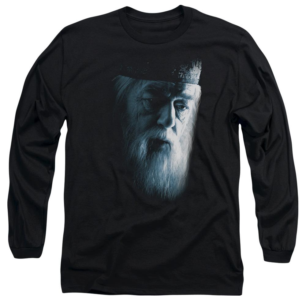 Harry Potter Dumbledore Face Long Sleeve Shirt