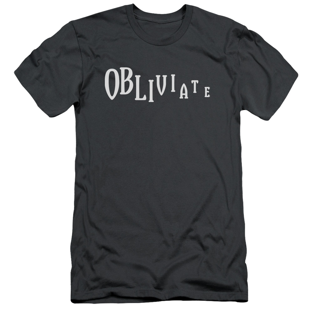 Harry Potter Obliviate Premium Slim Fit T-Shirt