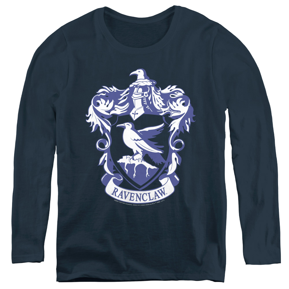Harry Potter Ravenclaw Emblem Women's Long Sleeve Shirt