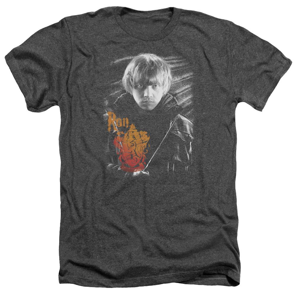 Harry Potter Ron Portrait Heather T-Shirt