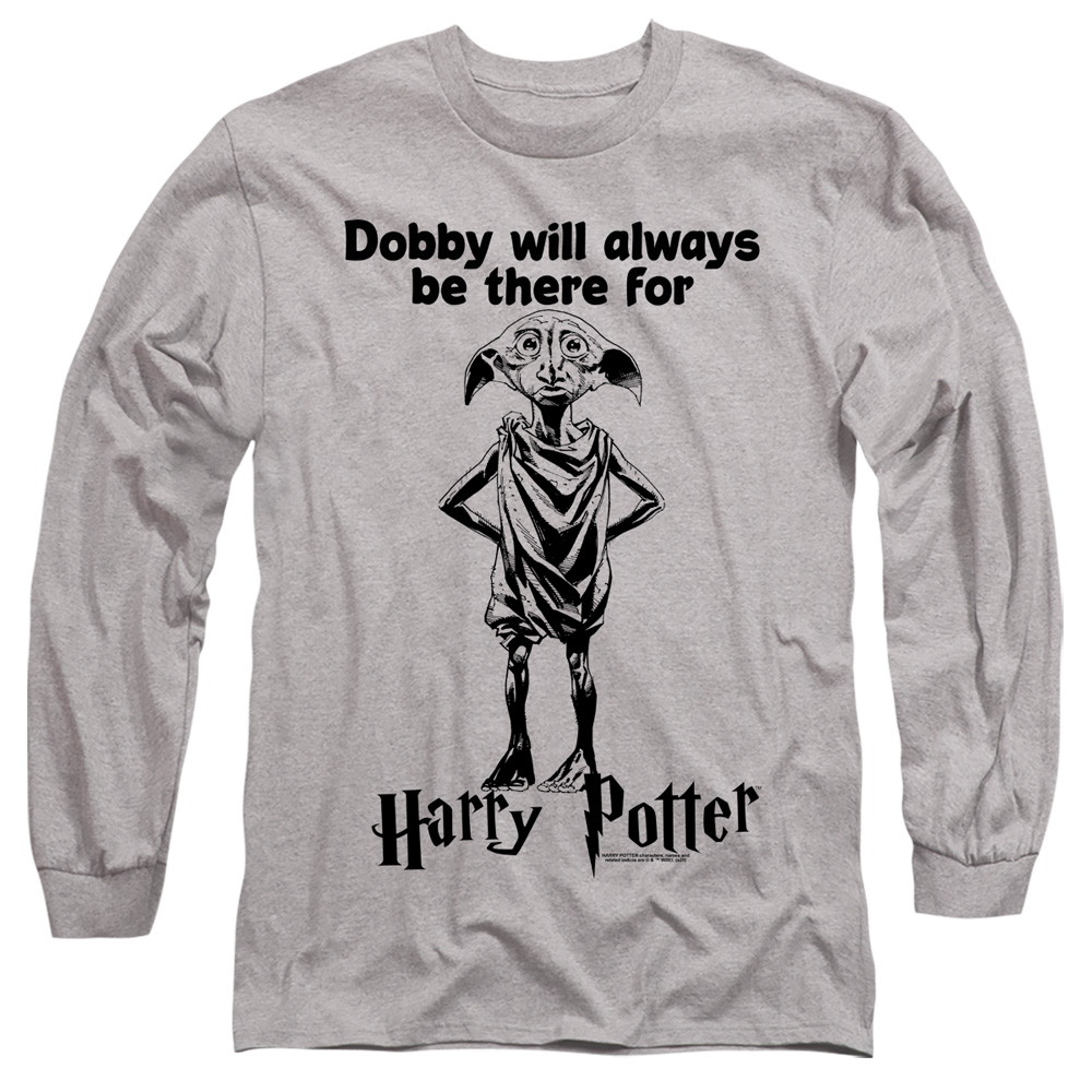 Dobby Will Always Be There For Harry Potter Long Sleeve Shirt