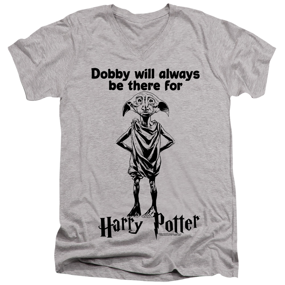 Dobby Will Always Be There For Harry Potter V-Neck T-Shirt