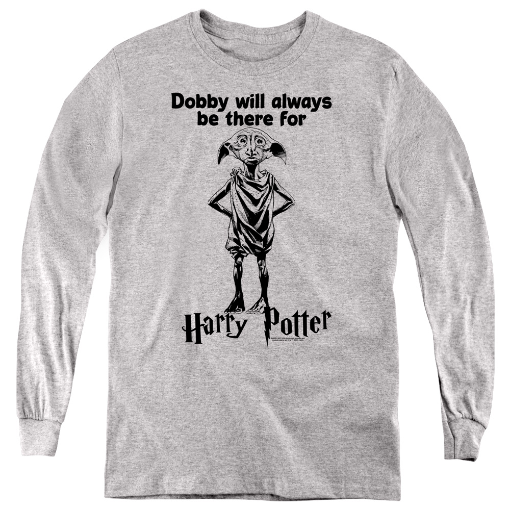 Dobby Will Always Be There For Harry Potter Kids Long Sleeve Shirt