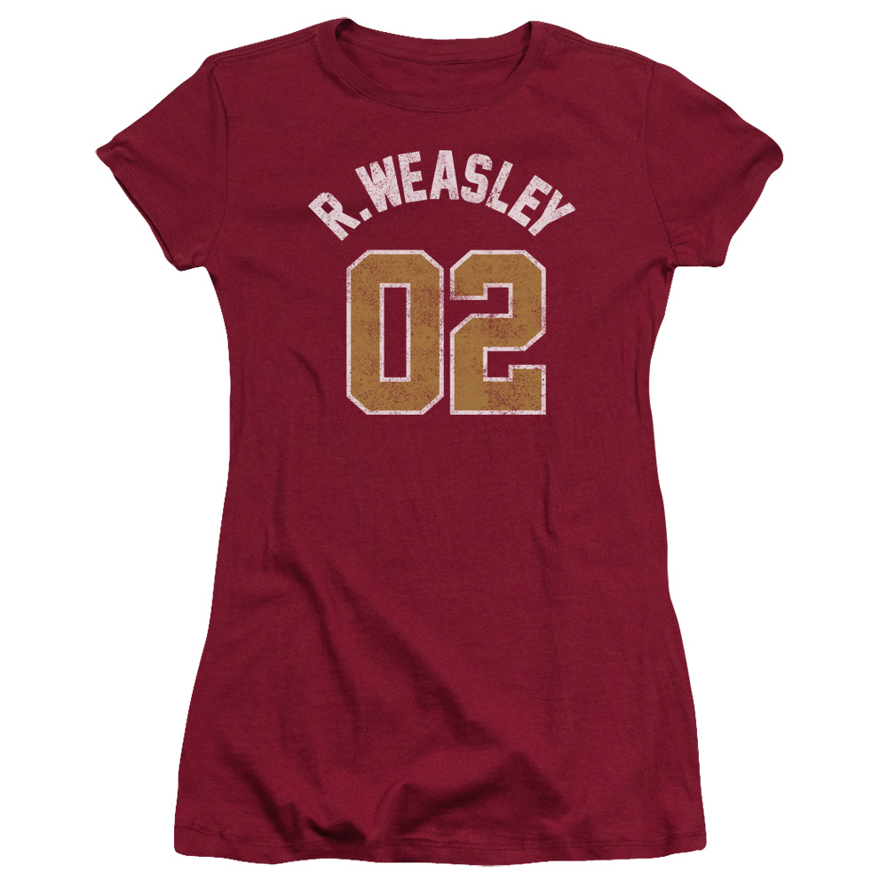 Harry Potter R. Weasley Jersey 02 Junior Fit T Shirt