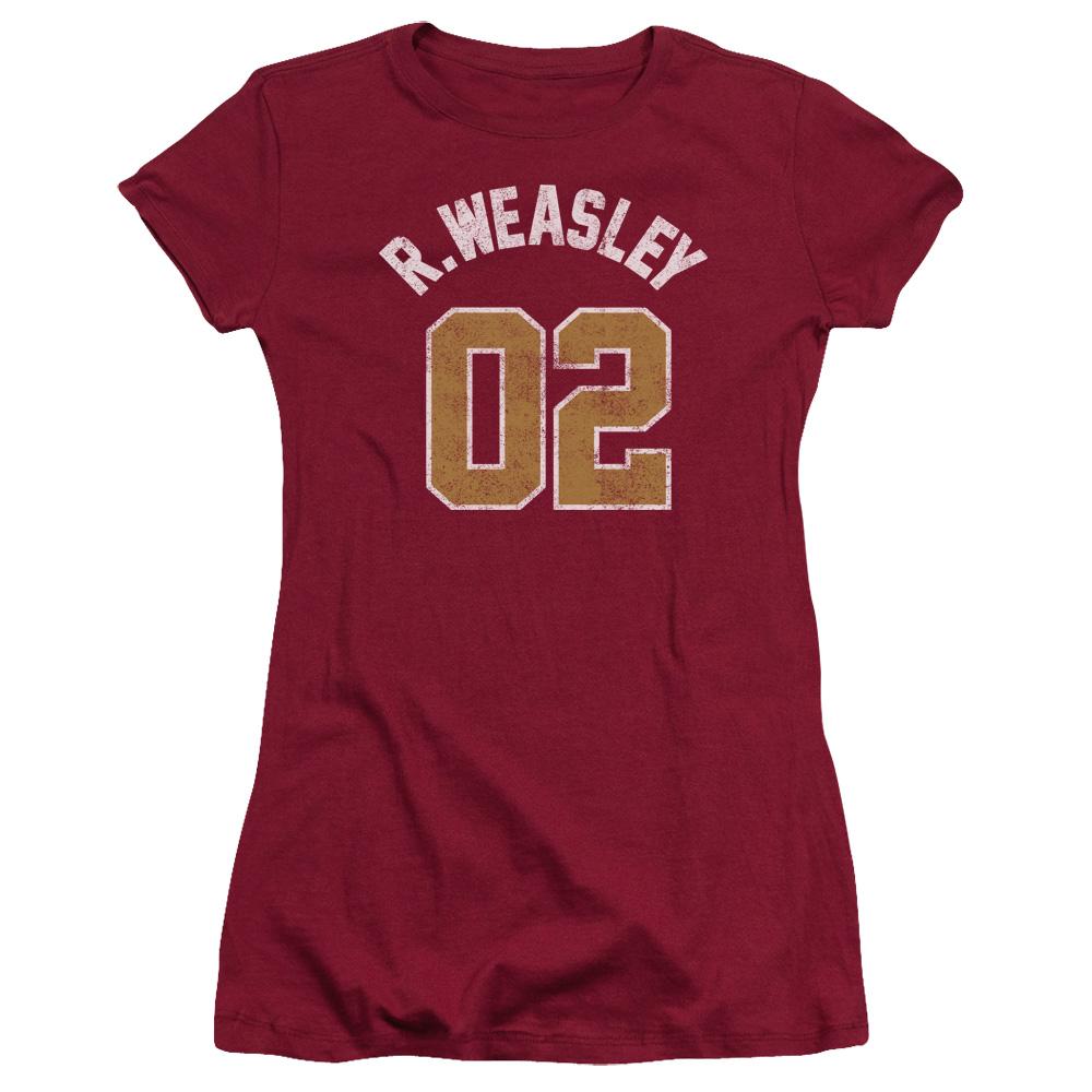 Harry Potter R. Weasley Jersey 02 Junior Fit T Shirt