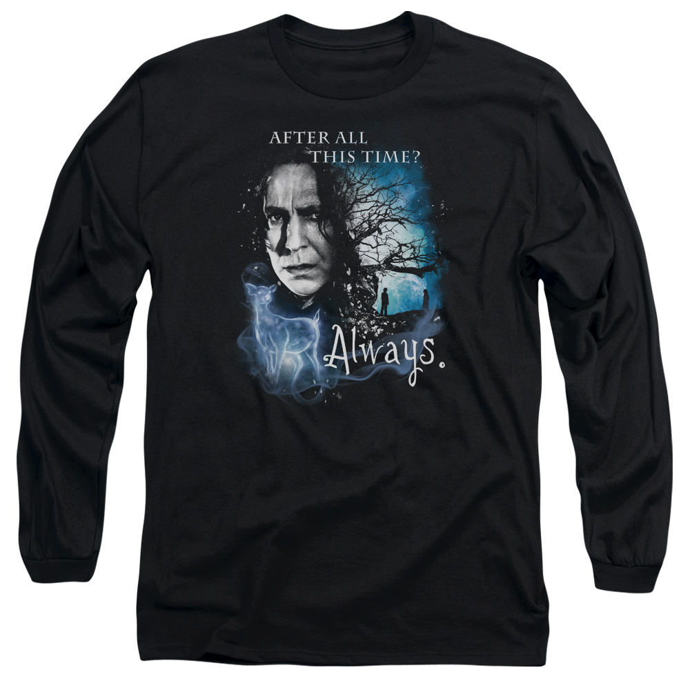 Harry Potter After All This Time Always Long Sleeve Shirt