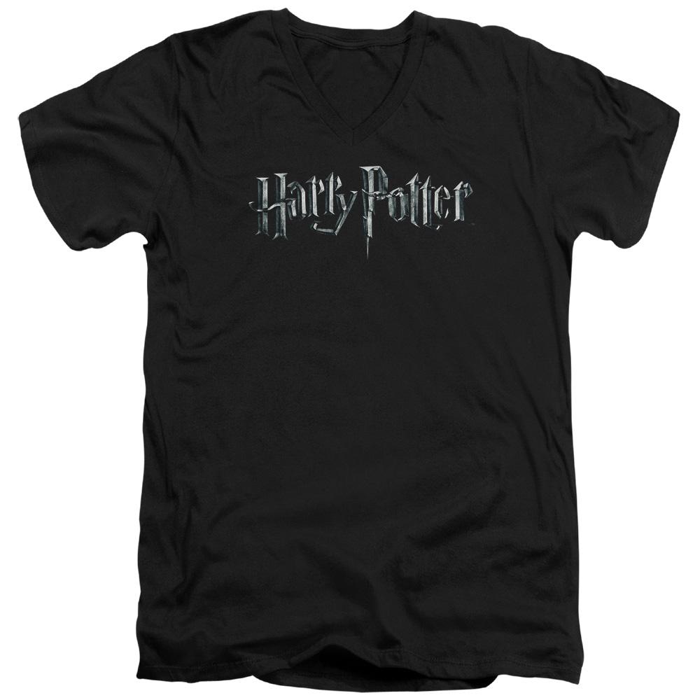 Harry Potter Movie Logo V-Neck T-Shirt
