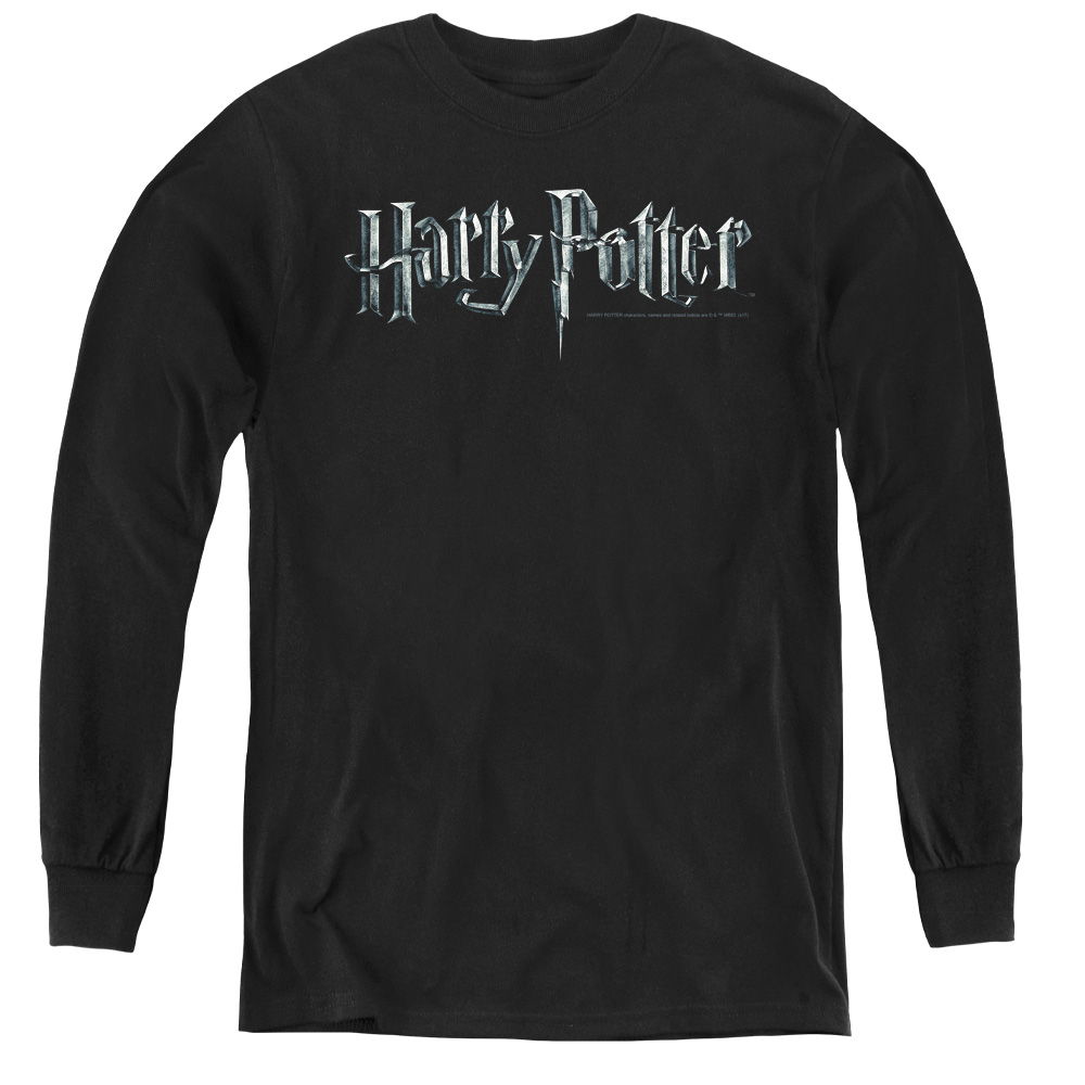Harry Potter Movie Logo Kids Long Sleeve Shirt