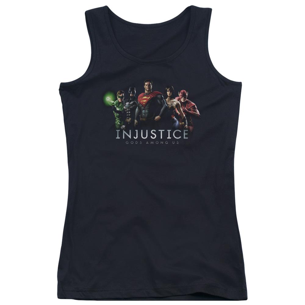Injustice League Juniors Tank Top