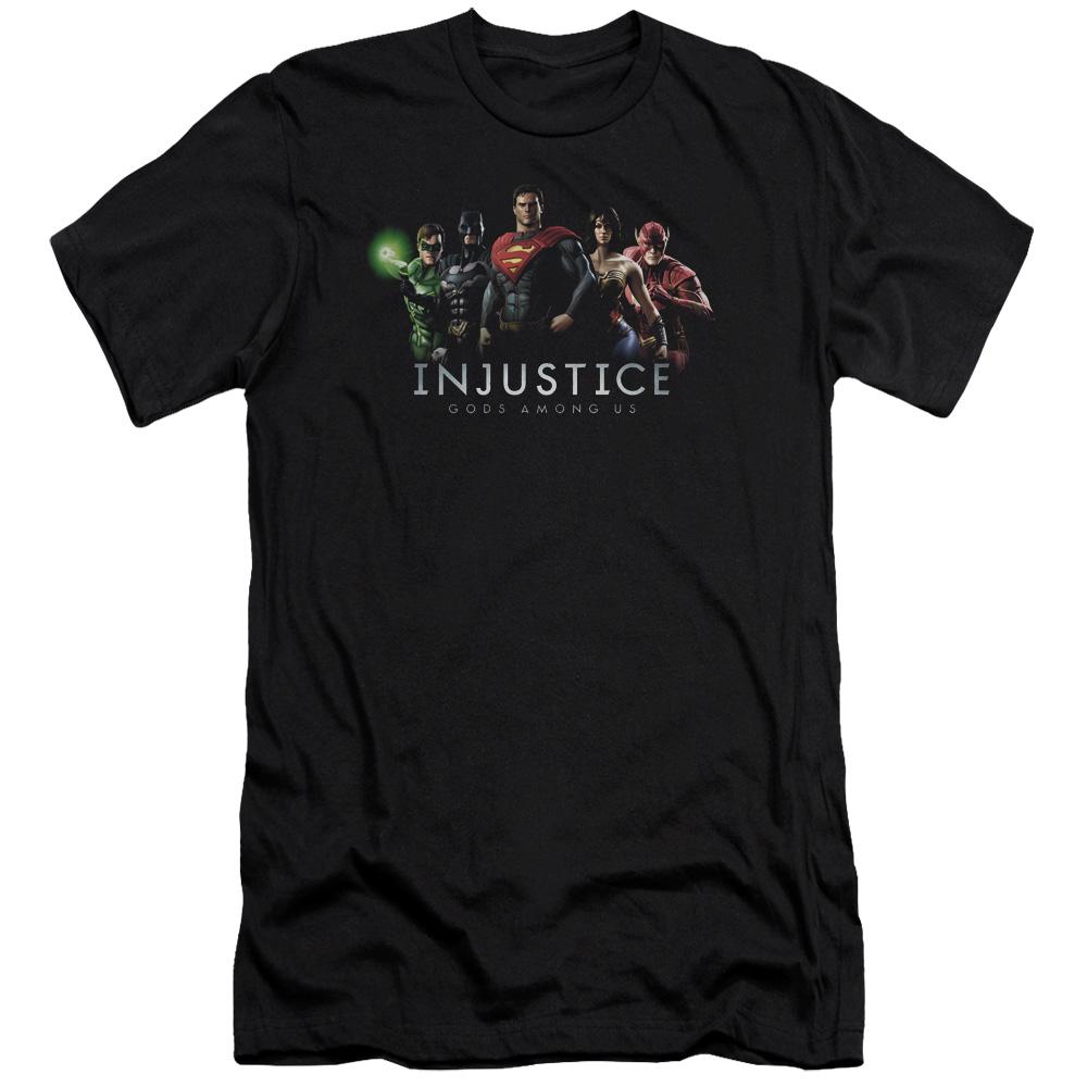 Injustice League Premium Slim Fit T-Shirt