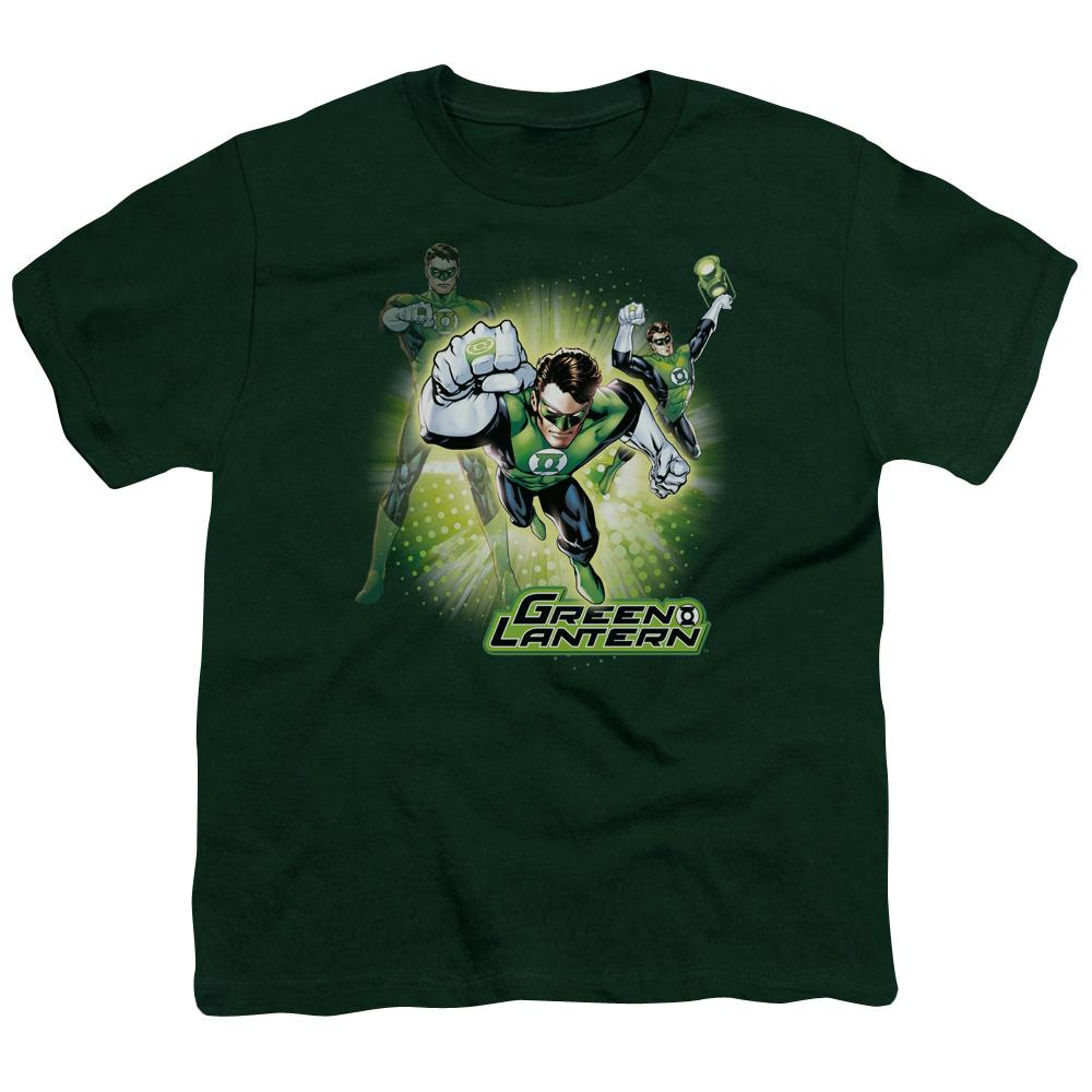 Green Lantern Burst Kids T-Shirt