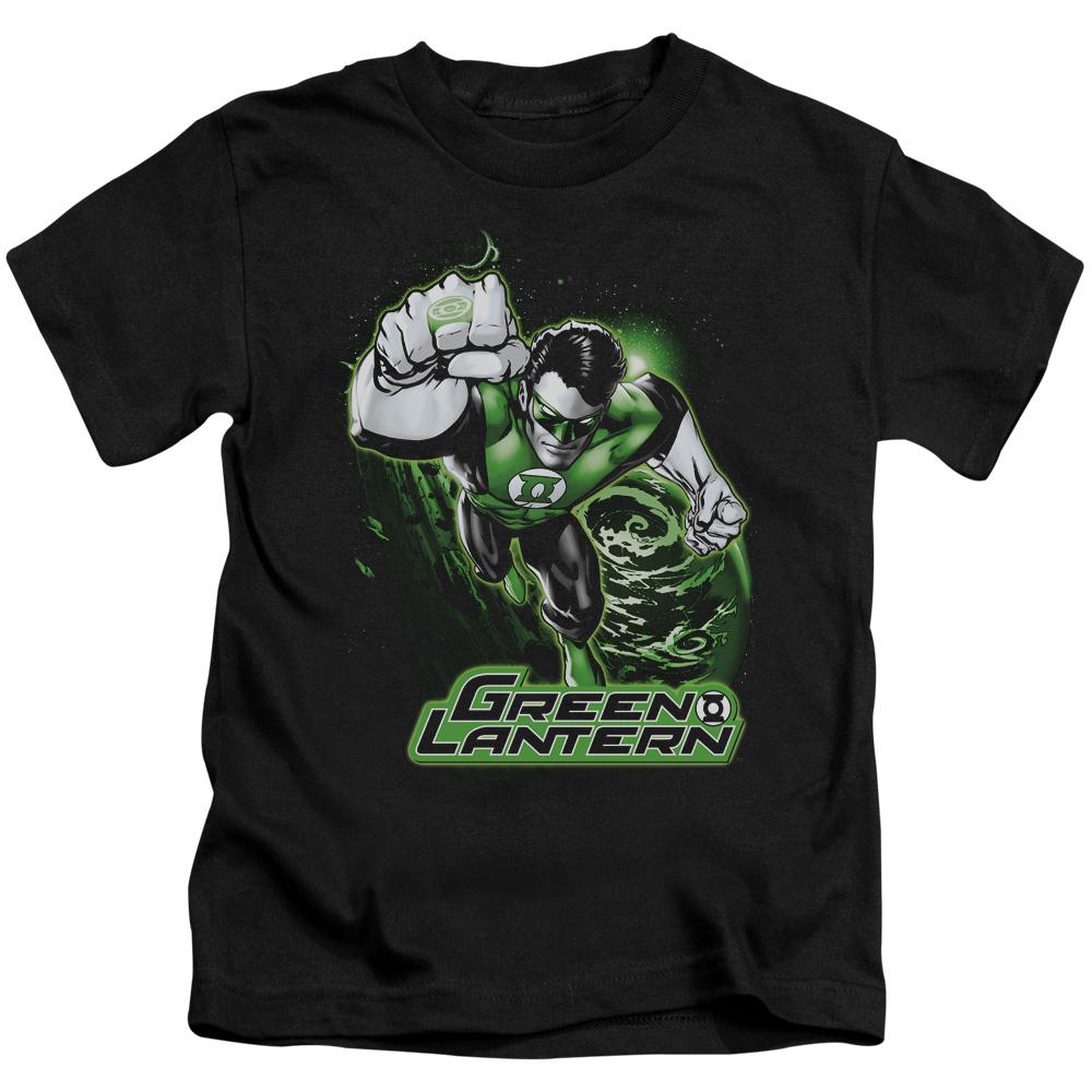 Green Lantern Green & Gray Juvy T-Shirt