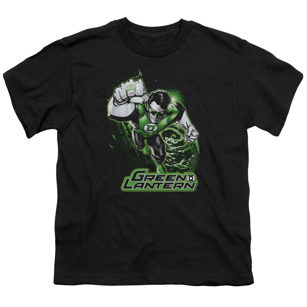 Green Lantern Green & Gray Kids T-Shirt