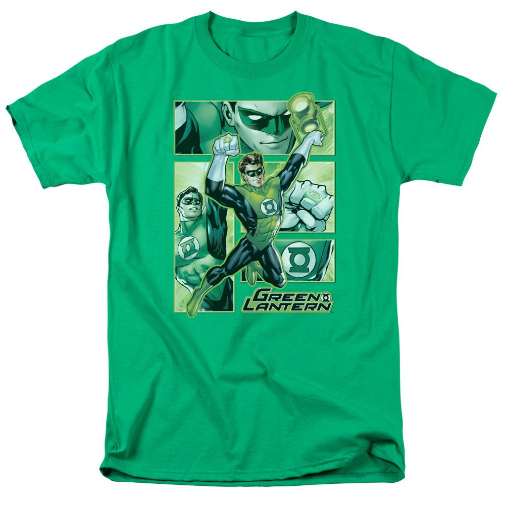 Green Lantern Green Lantern Panels T-Shirt