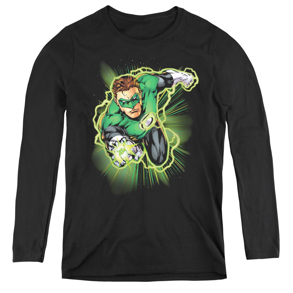 Green Lantern Energy Women's Long Sleeve Shirt