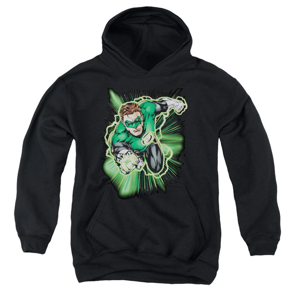 Green Lantern Energy Kids Hoodie