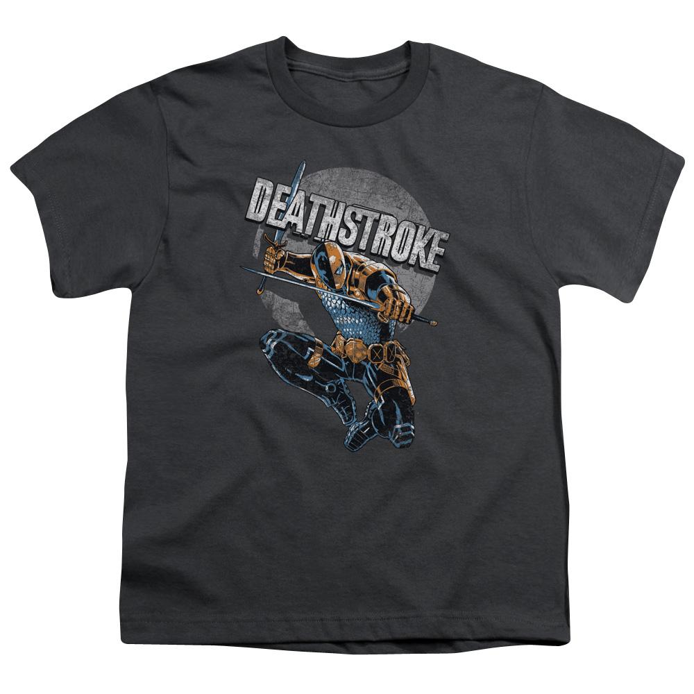Deathstroke Retro Kids T-Shirt