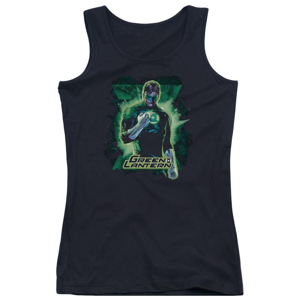 Green Lantern Brooding Juniors Tank Top