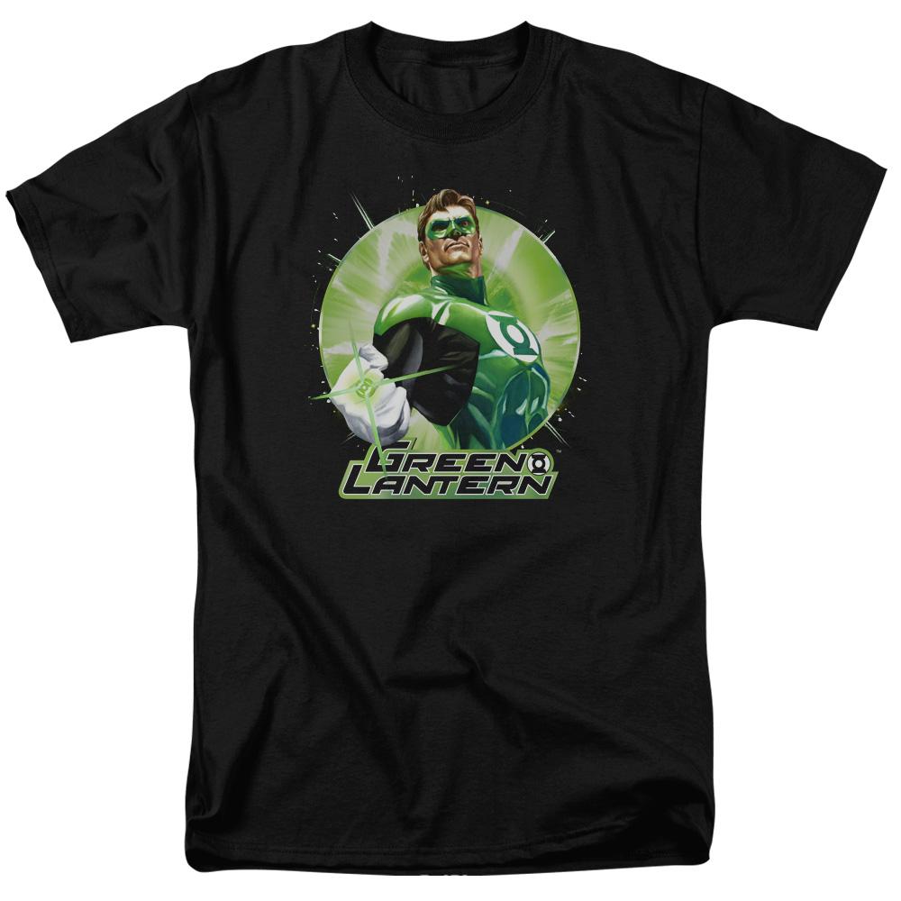 Green Lantern Green Static T-Shirt