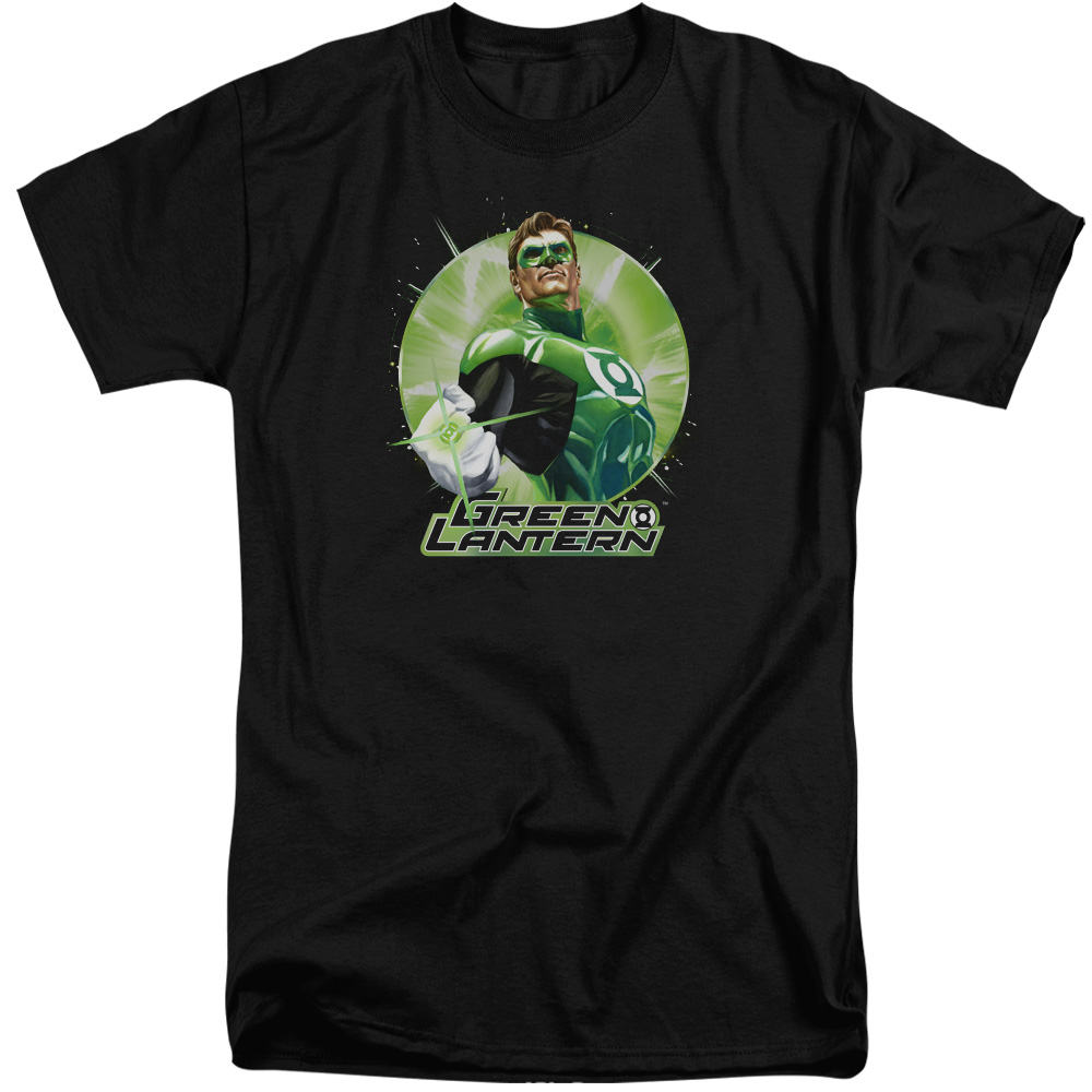 Green Lantern Green Static Tall T-Shirt