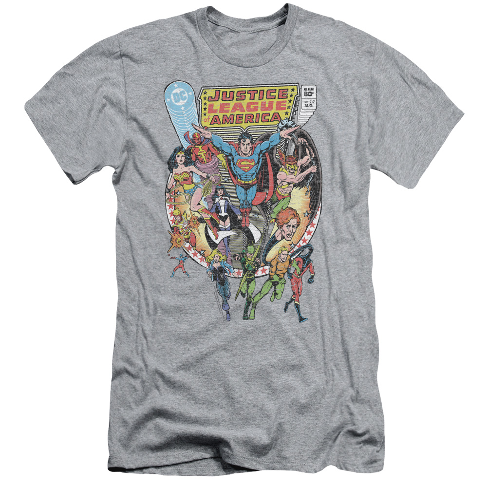 Justice League Team Up Slim Fit T-Shirt