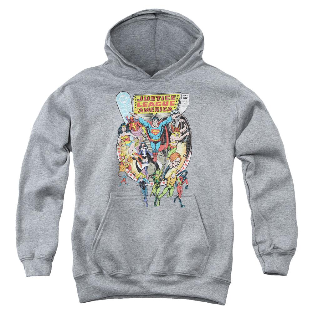 Justice League Team Up Kids Hoodie