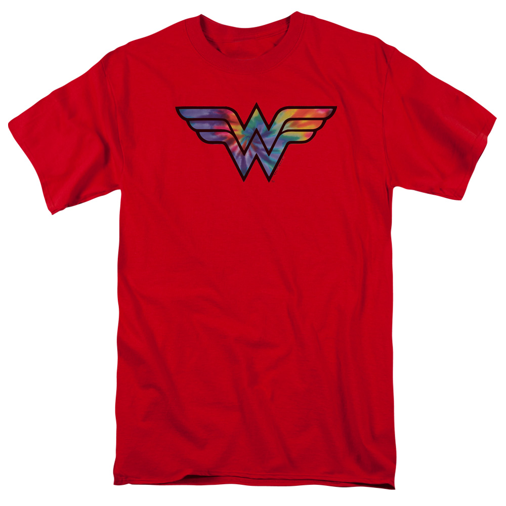 Wonder Woman Tie Dye Logo T-Shirt
