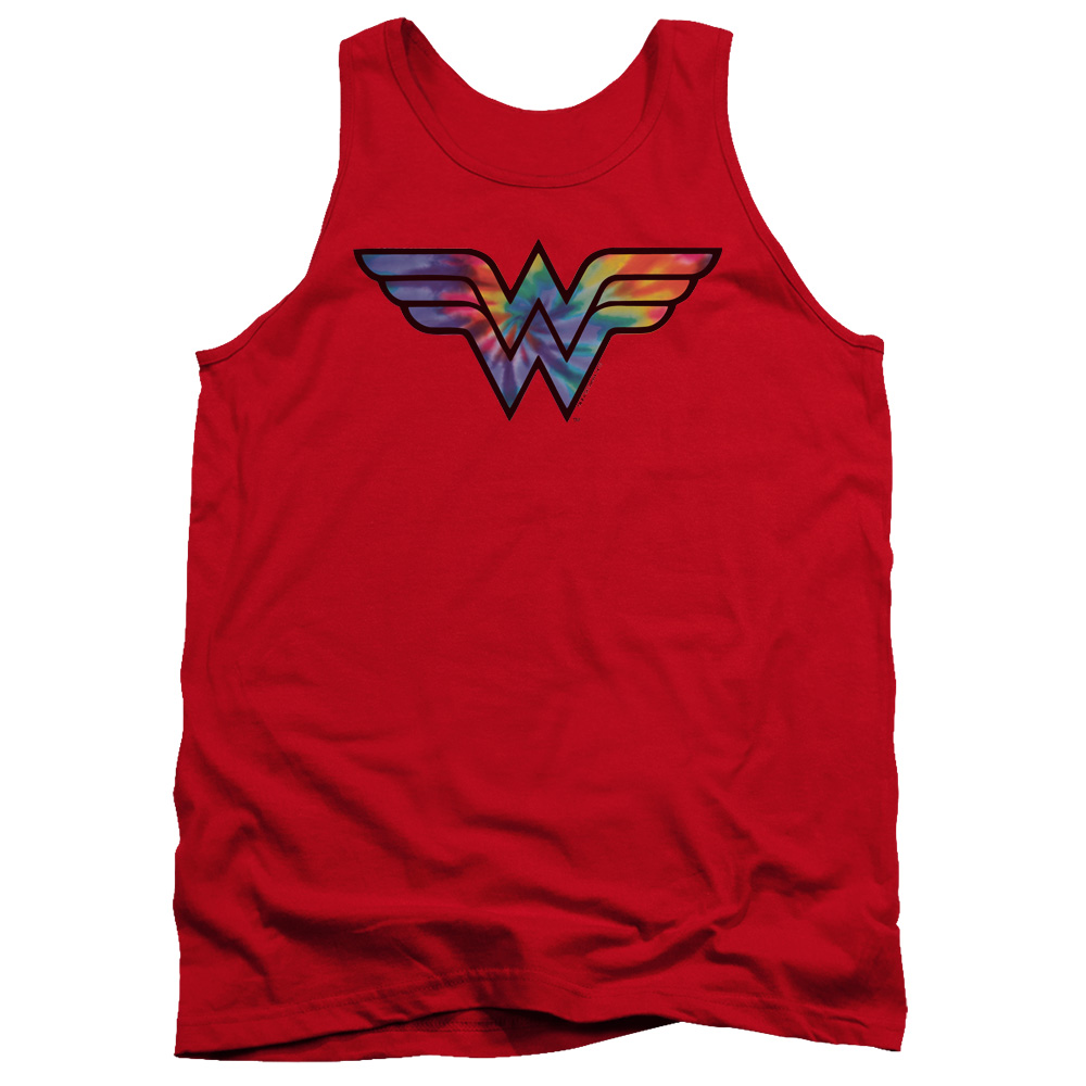 Wonder Woman Tie Dye Logo Tank Top