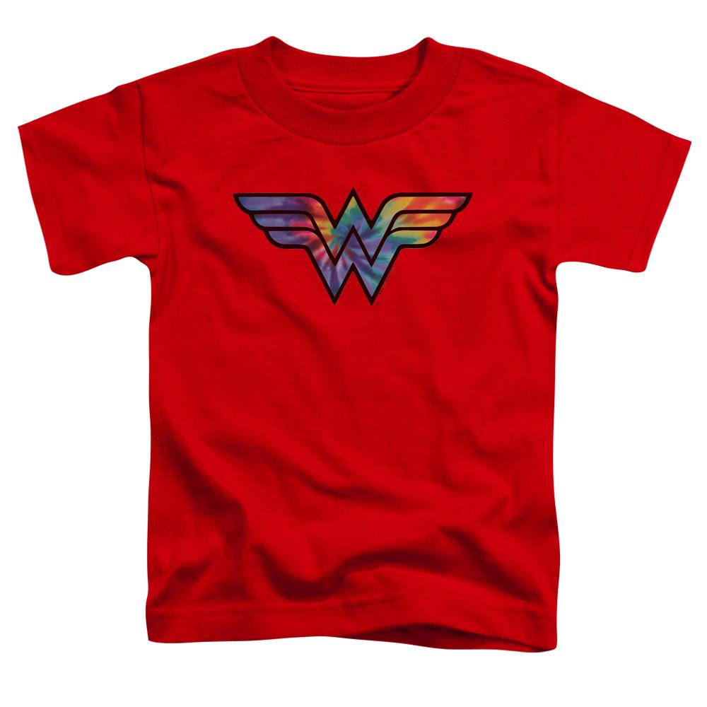 Wonder Woman Tie Dye Logo Toddler T-Shirt