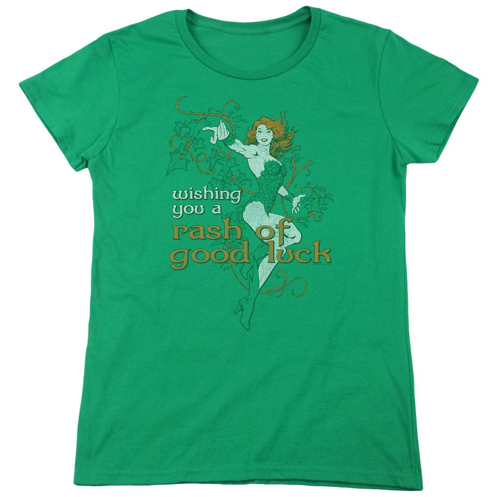 Rash of Good Luck Justice League Women's T-Shirt
