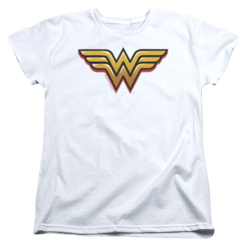 Wonder Woman Airbrush WW Women's T-Shirt