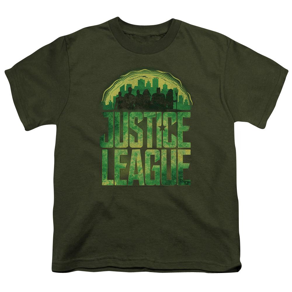 Kryptonite Justice League Movie Kids T-Shirt