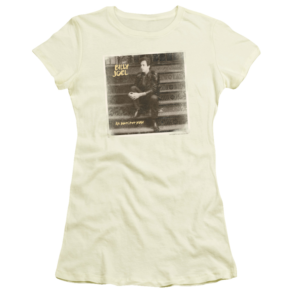 Billy Joel An Innocent Man Junior Fit T Shirt