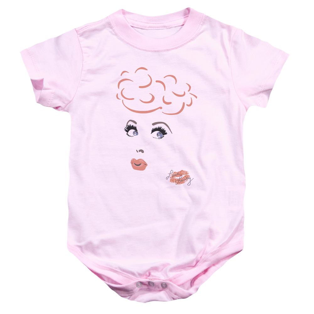 I Love Lucy Eyelashes Baby Bodysuit