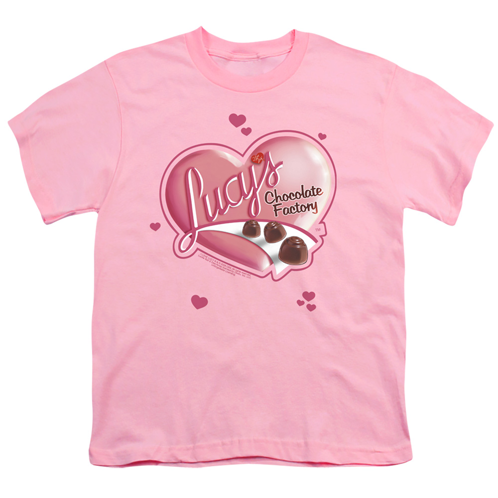 I Love Lucy Chocolate Smudges Kids T-Shirt