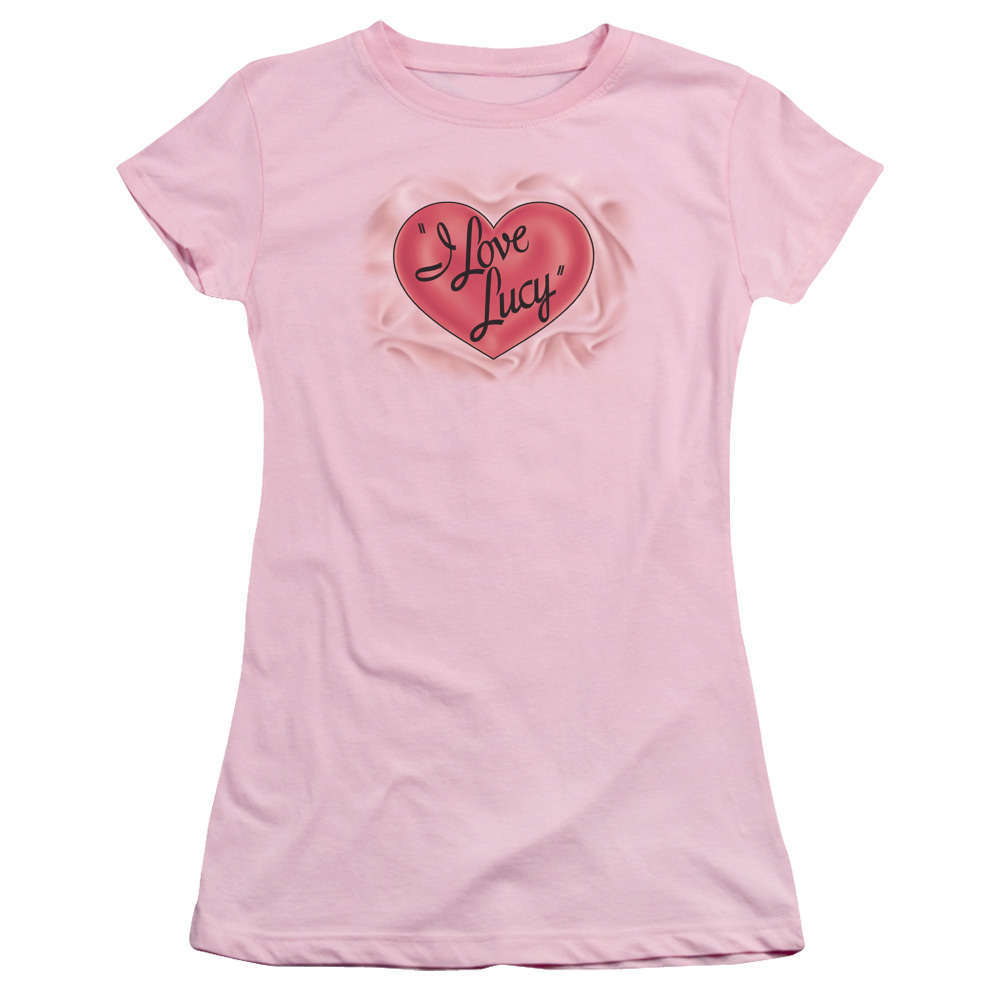 Classic I Love Lucy Logo Junior Fit T Shirt