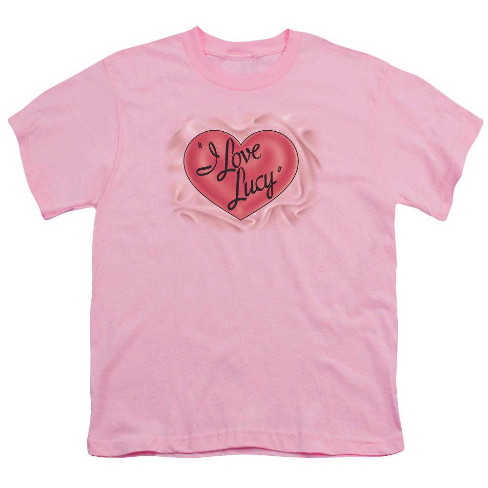 Classic I Love Lucy Logo Kids T-Shirt