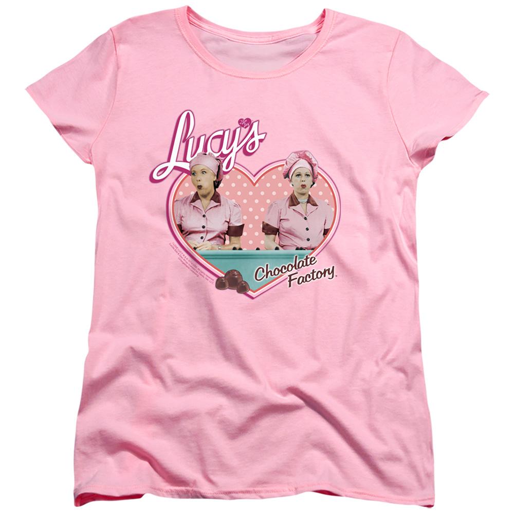 I Love Lucy Chocolate Factory Women's T-Shirt