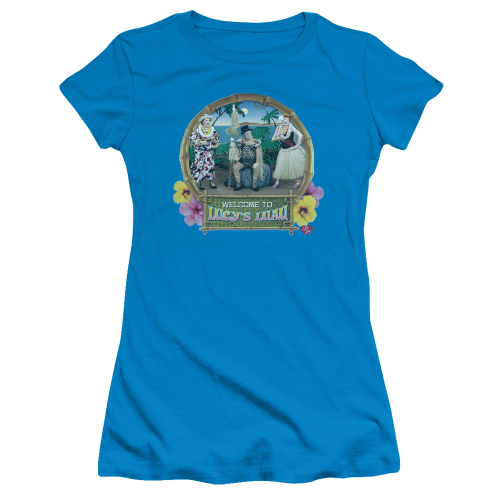 Lucy's Luah I Love Lucy  Junior Fit T Shirt