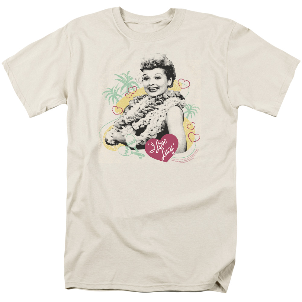 I Love Lucy Luau Graphic