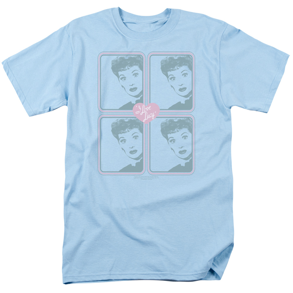 I Love Lucy Squared T-Shirt