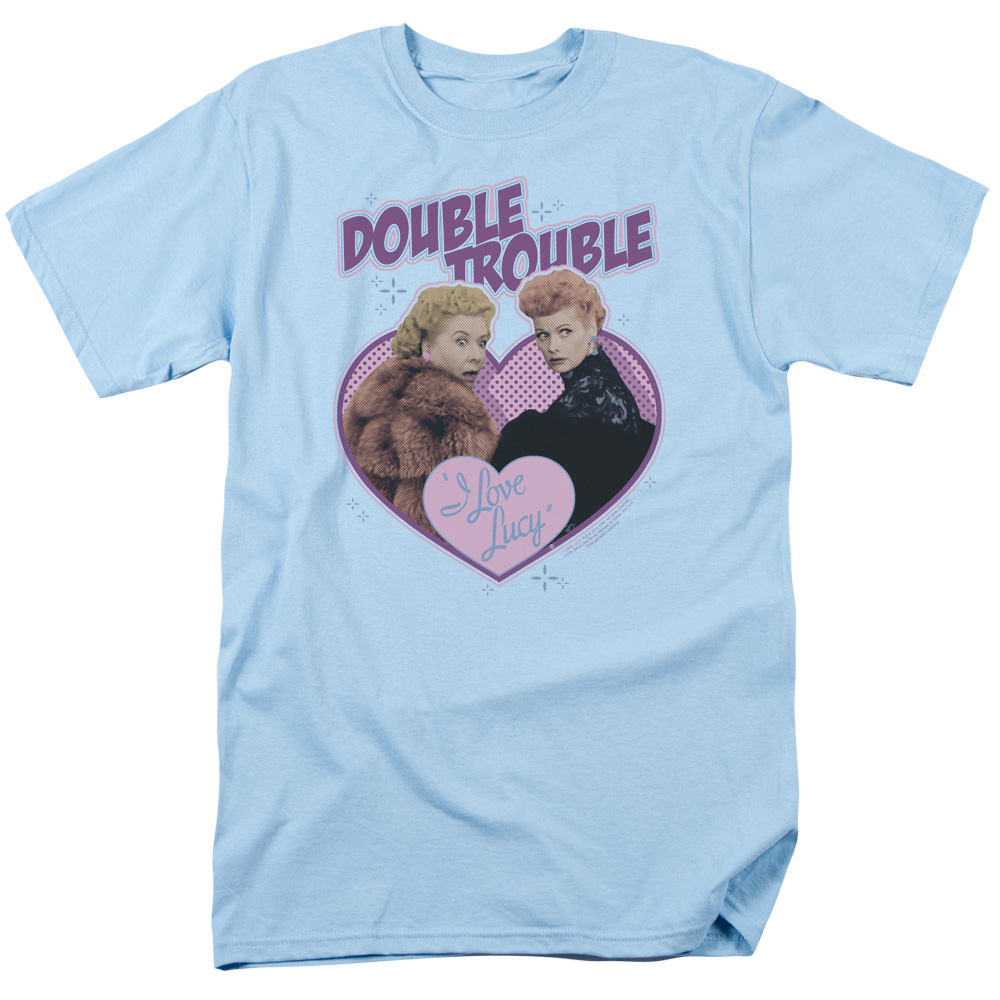 I Love Lucy Double Trouble T-Shirt