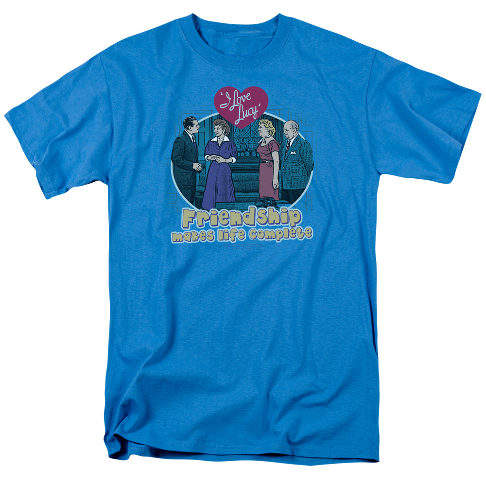 I Love Lucy Friendship Complete T-Shirt