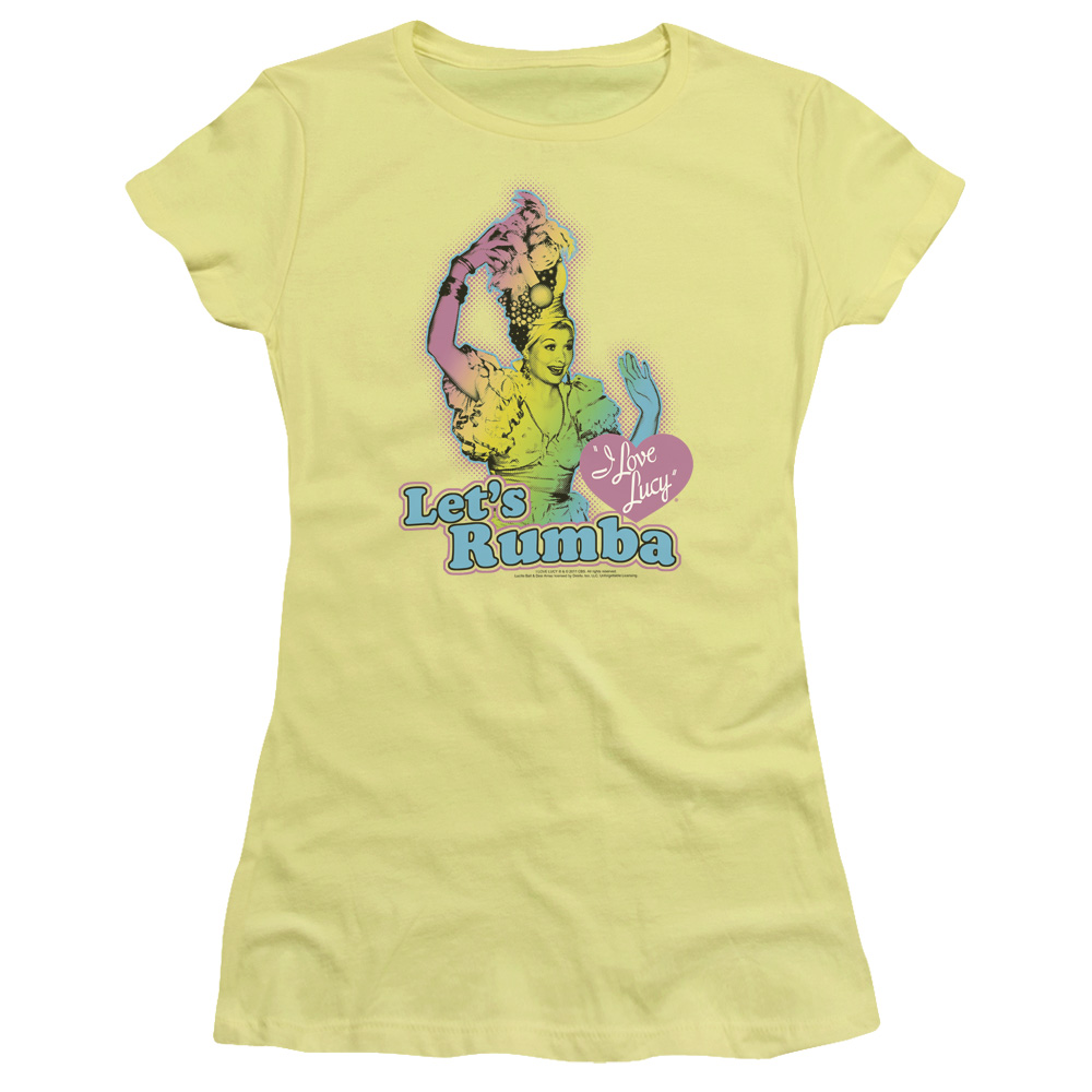 I Love Lucy Let's Rumba Junior Fit T Shirt