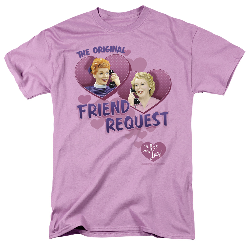 I Love Lucy Friend Request T-Shirt