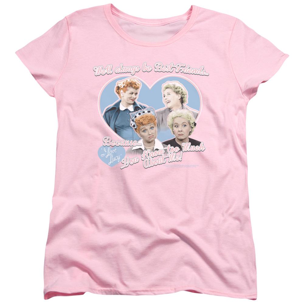 I Love Lucy Always Best Friends Women's T-Shirt